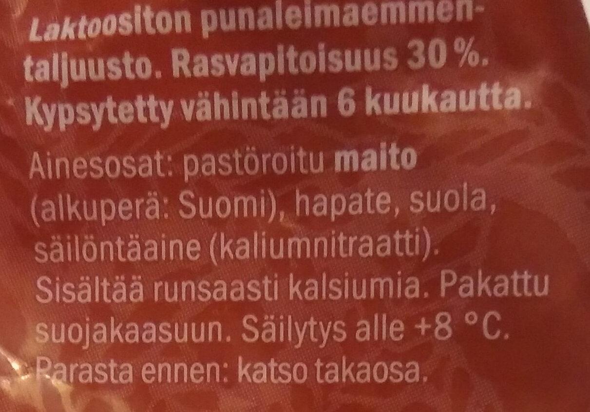 Kotimainen Punaleima - Ainesosat - fi