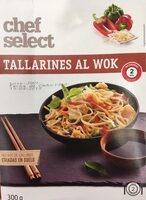 Tallarines al wok - Producte