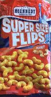 American way Super Size Flips Peanut - Product - en