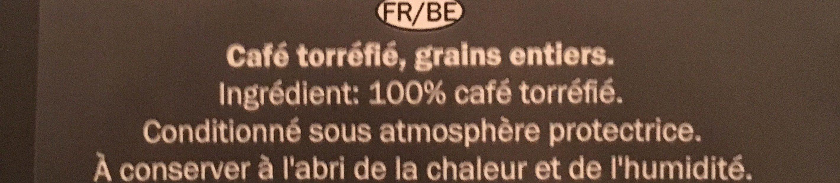 Espresso/Grains de café - Ingrédients