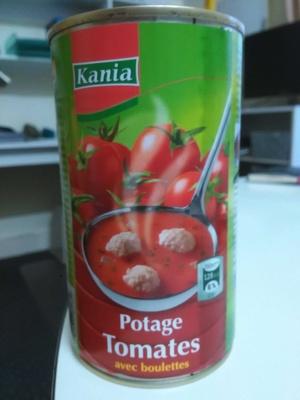 Soupe aux tomates et boulettes de viande - Product