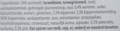 Krachtige Kippensoep - Ingrediënten - nl