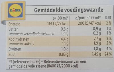 Krachtige Kippensoep - Voedingswaarden - nl