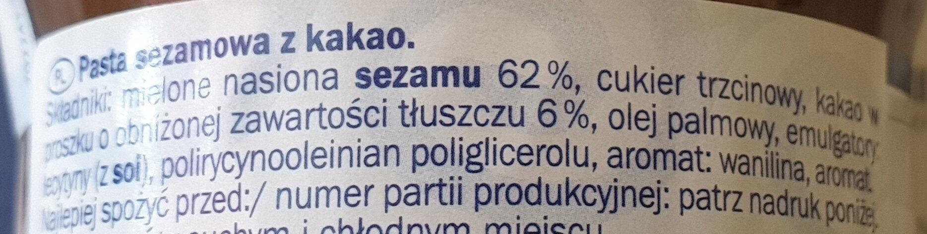 taxini - Składniki - pl