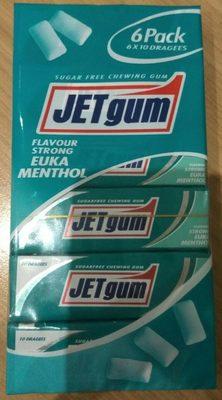 Jetgum Flavour Euka Mentha 6-pack (jetgum) - Producte