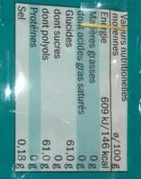Jetgum Flavour Euka Mentha 6-pack (jetgum) - Informació nutricional