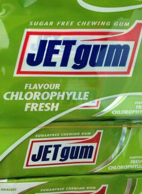 Jet gum chlorophyle - Produit - fr