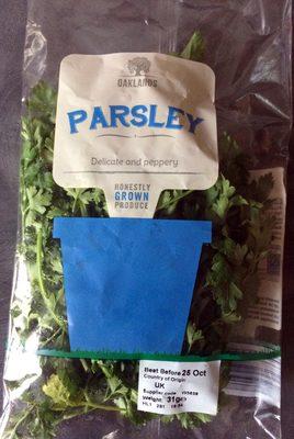 Fresh flat leaf parsley - Product
