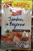 Jambon de Bayonne (opération XXL 6+1 tranche gratuite) - Product