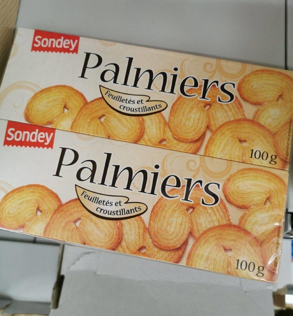 Palmiers biscuits feuilletés - Product - fr