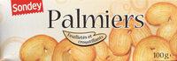 Palmiers feuilletés croustillants - Produit