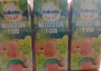 Zumo Melocotón y Uva - Producto - fr