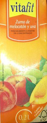 Solevita Melocotón y uva - Producto