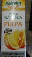 Zumo de naranja exprimida con pulpa - Producto - es