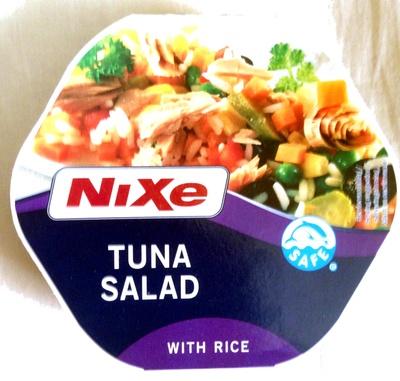 Tuna salad with rice - Product - en