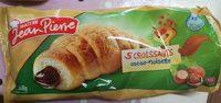 5 Croissants Choco-Noisette - Product - fr