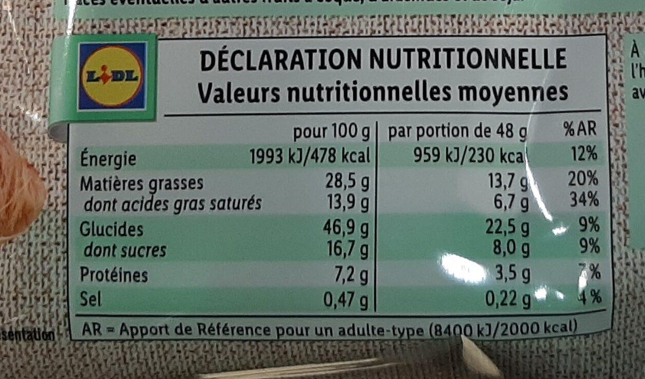 Croissants cacao Noisette - Nutrition facts - fr