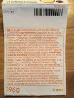 11 Chocosoesjes - Product - en