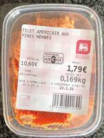 Filet americain - Prodotto - fr