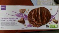 Biscuits aux céréales au chocolat au lait - Product - nl