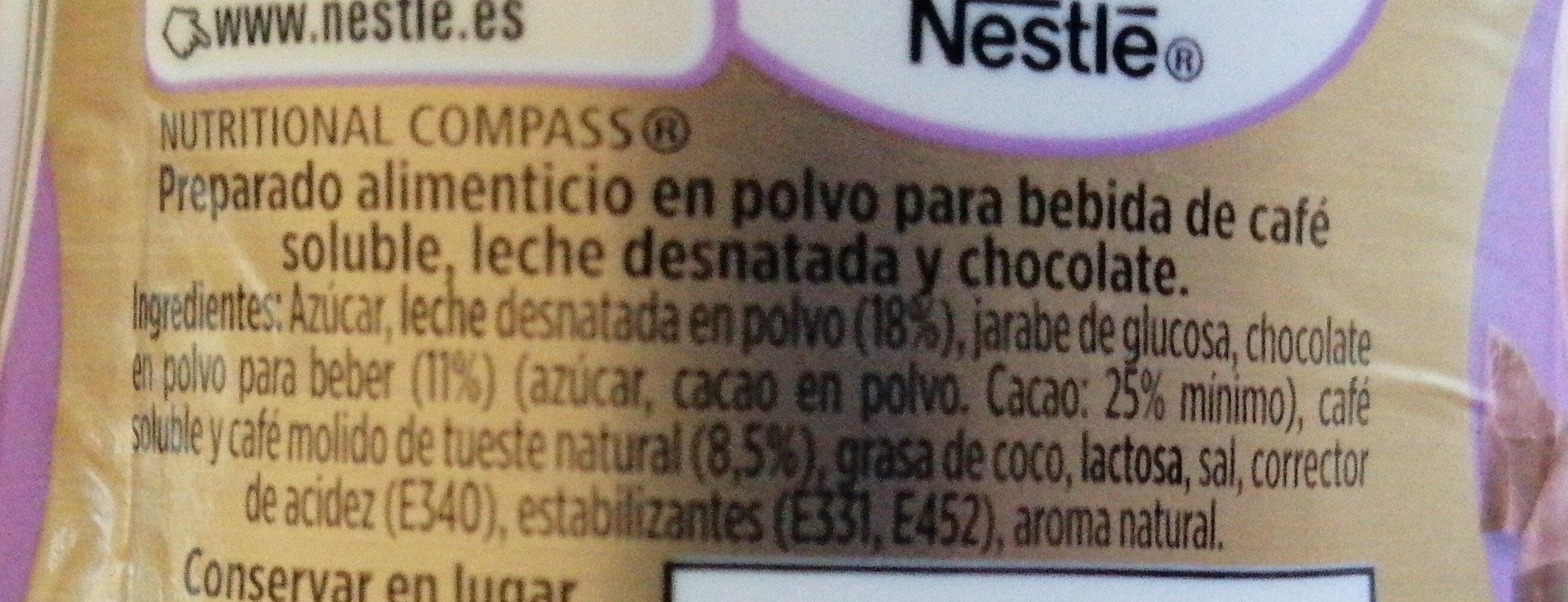Nescafé Gold - Ingredients - es