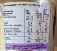 Nescafé Gold - Informació nutricional - es