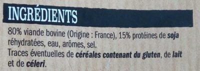 10 ultra moelleux au bœuf - Ingrédients - fr