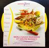 Merlu Blanc Sauce Marinière et son Riz Basmati - Produit