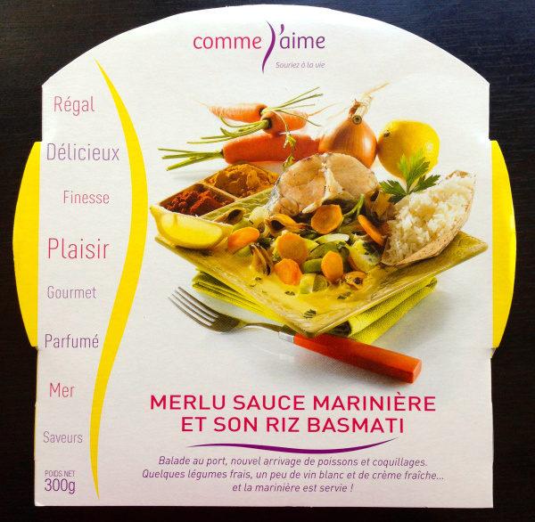 Merlu Blanc Sauce Marinière et son Riz Basmati - Product