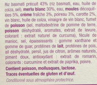 Merlu Blanc Sauce Marinière et son Riz Basmati - Ingredients