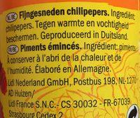 Vitasia Chili Gehackt - Ingredients - fr