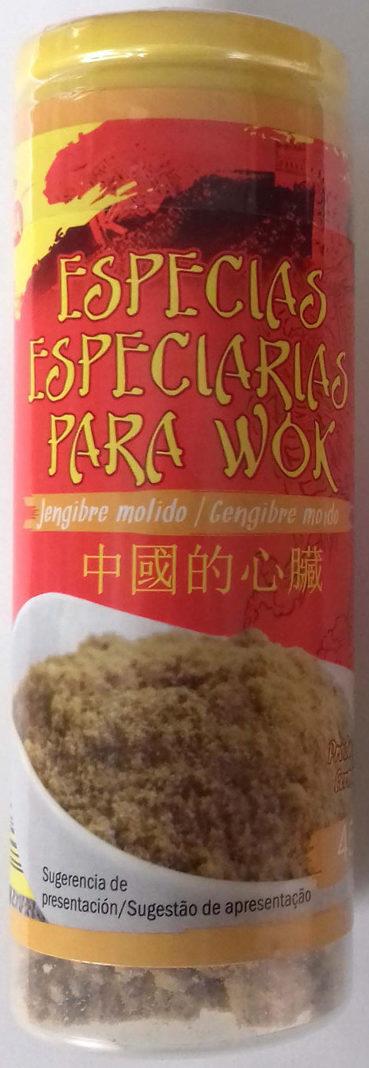 Especias para wok Jengibre molido - Producto