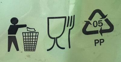 Gluten free noodles - penne - Wiederverwertungsanweisungen und/oder Verpackungsinformationen - en