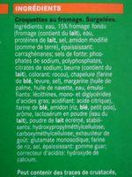 Croquette Fromage - Ingrédients - fr