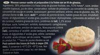 Tiramisu à la fraise - Ingrédients - fr
