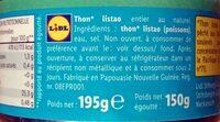 Thunfisch - Ingrédients - fr