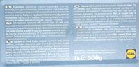Lody o smaku śmietankowym - Składniki - pl