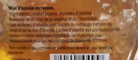 Miel d'Acacia avec Rayon - Ingrédients - fr
