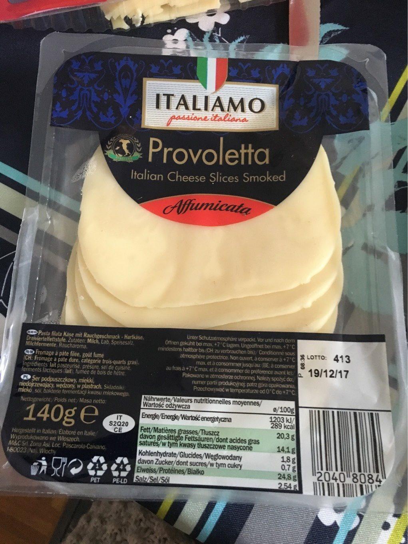 Italiamo - Provoletta - Affumicata - 46 % F.i.t. - Product