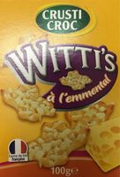 Witti's à l'emmental - Product