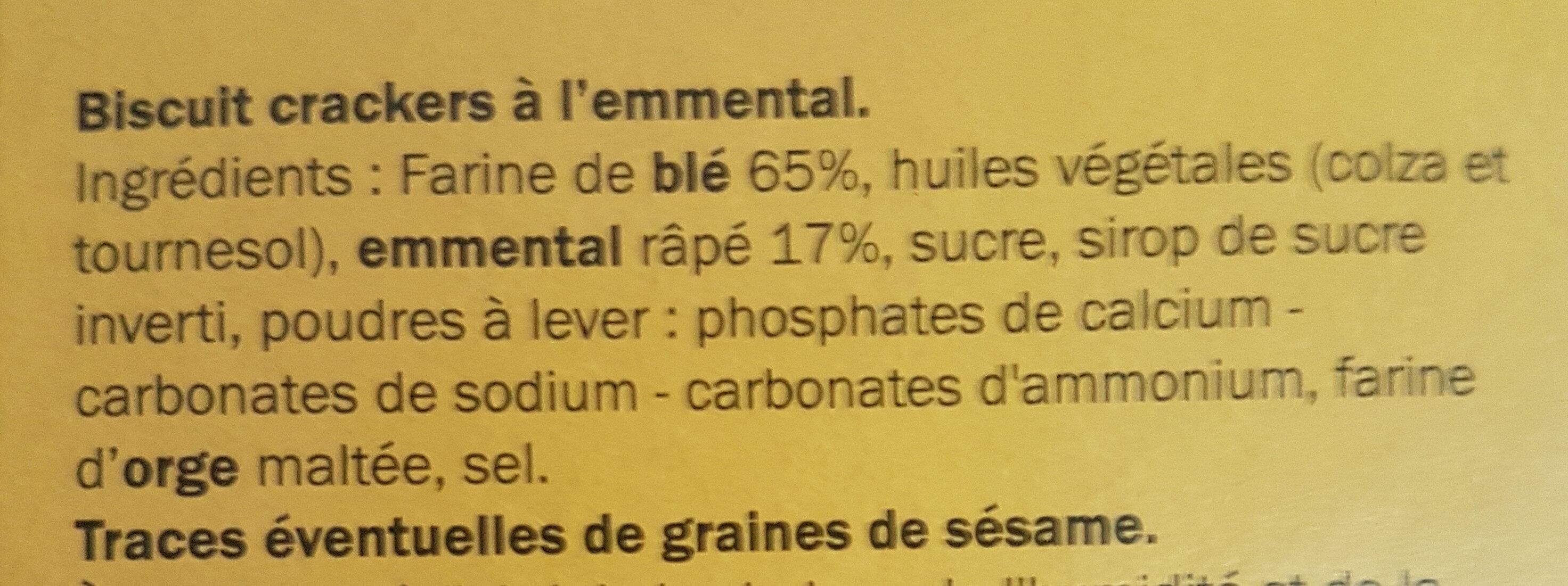 Witti's à l'emmental - Ingrediënten