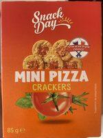 Mini Pizza Crackers - Product - fr