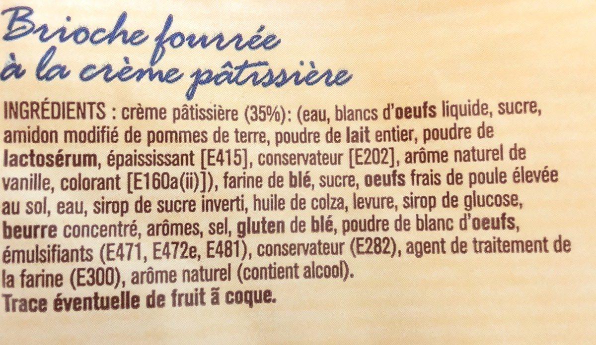 Chinois - Crème pâtissière - Ingrédients