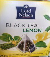 Black tea lemon - Product