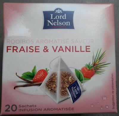Rooibos aromatisé  saveur fraise vanille - Product