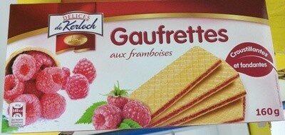 Gaufrettes aux framboises - Produit - fr