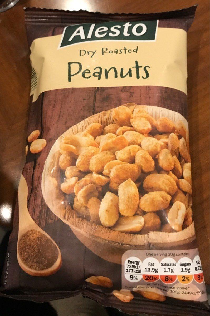 Dry Roasted Peanuts - Produit - fr