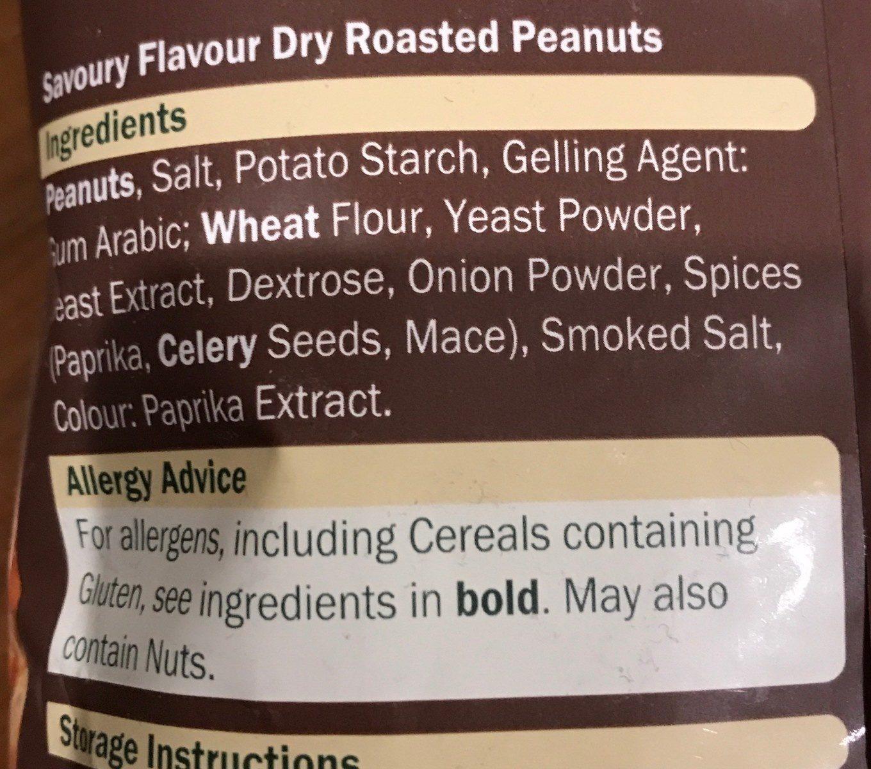 Dry Roasted Peanuts - Ingrédients - fr