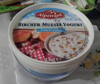Bircher Muesli Yogurt Alpengut - Produit - fr