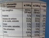 Bircher Muesli Yogurt Alpengut - Informations nutritionnelles - fr